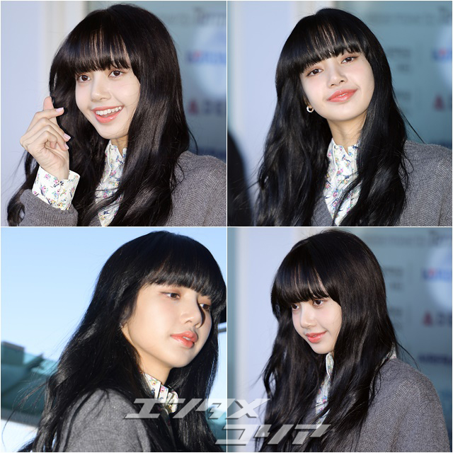 Lisa of Black Pink Sports Cute Look for Prada Fashion Show