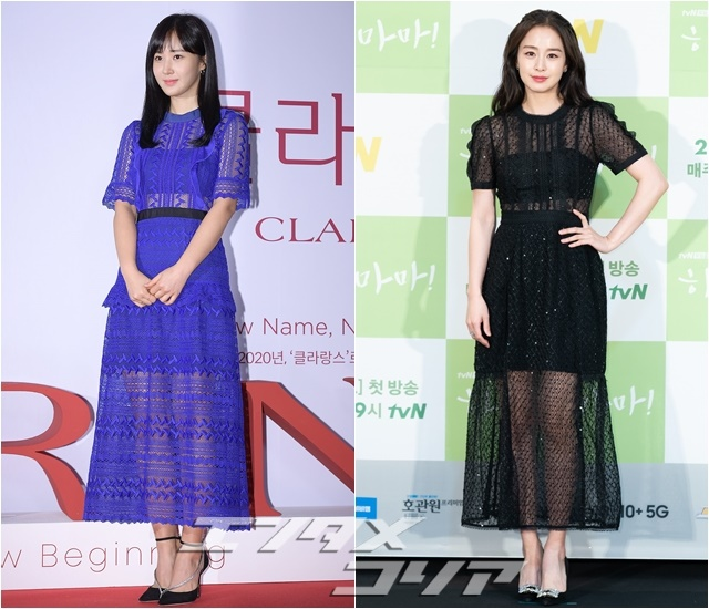 Stars Turn to Dresses to Bring out Their Femininity