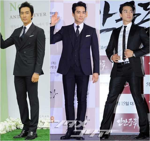 Actor Song Seung-hun Never Goes out of Style