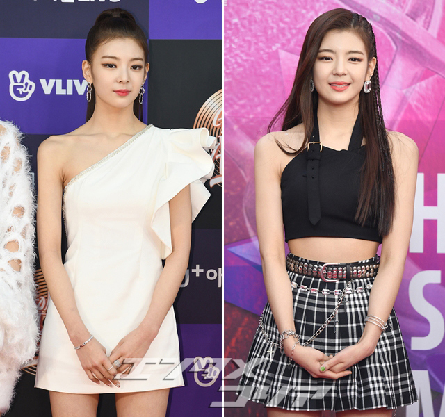 Girl Group ITZY Alternate Between Elegance, Funkiness on Red Carpet