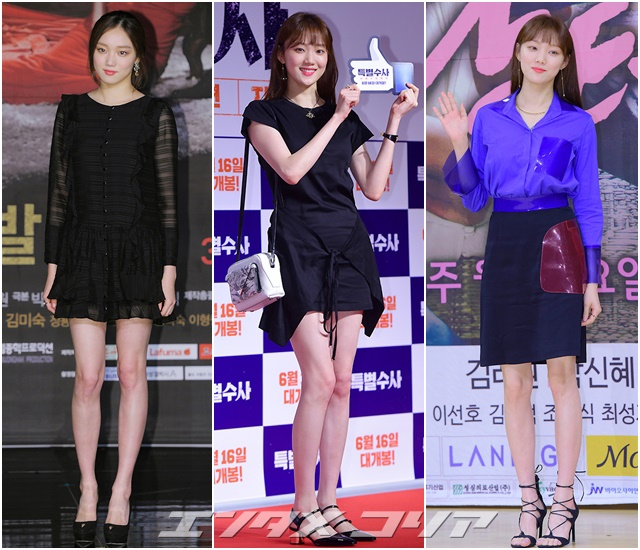 Model-Turned-Actress Lee Sung-kyoung Gets Away with Any Outfit
