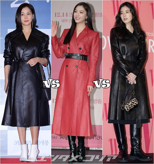 Stars Opt for Leather Coats to Make Bold Statements