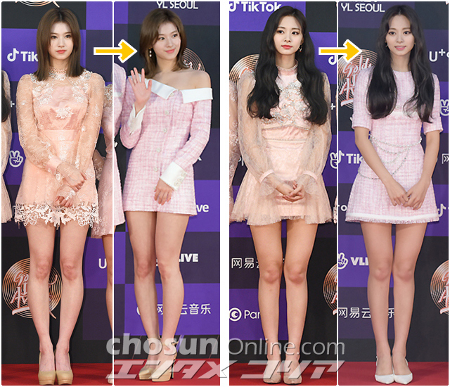 TWICE Members All Pretty in Pink