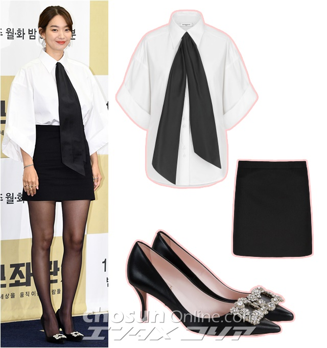 Actress Shin Min-a Goes for 'Office Chic' for Her TV Series