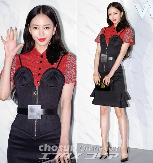 Actress Han Ye-seul Shows Attention to Detail in Louis Vuitton Ensemble
