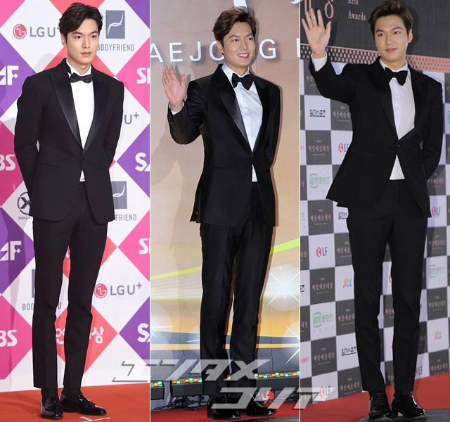 Actor Lee Min-ho Looks Equally Dashing in Suits or Jeans