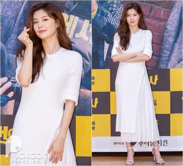 Actress Lee Sun-bin Radiant in White Dress
