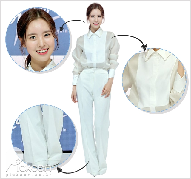 Actress Jin Se-Yeon Goes for All-White Look