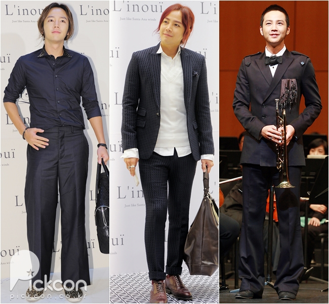 Actor Jang Keun-suk Sets His Own Fashion Rules