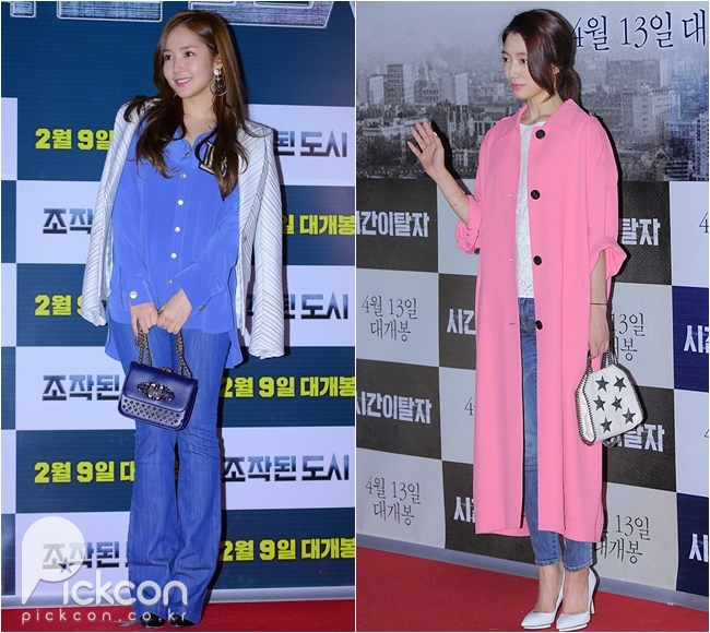 Rom-Com Stars Park Min-young, Park Shin-hye Never Fail to Turn Heads