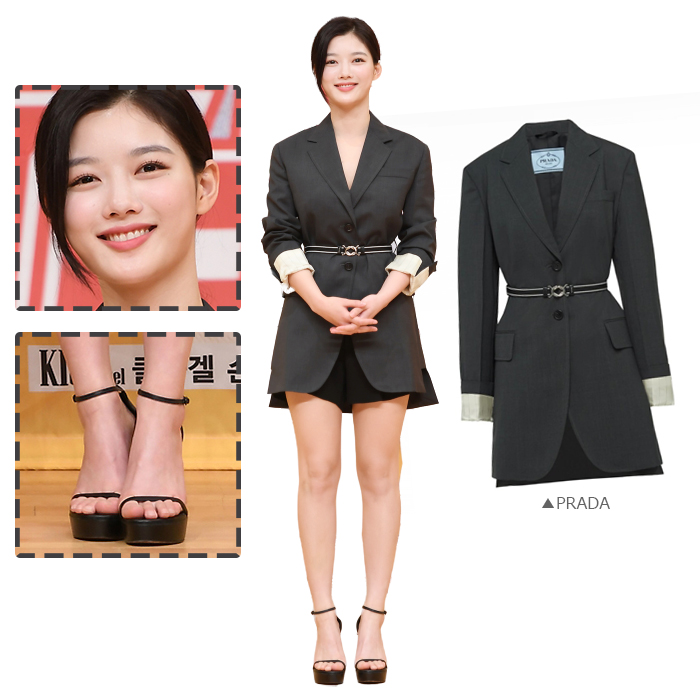 Actress Kim You-jung Looks Chic, Mature in Prada Jacket