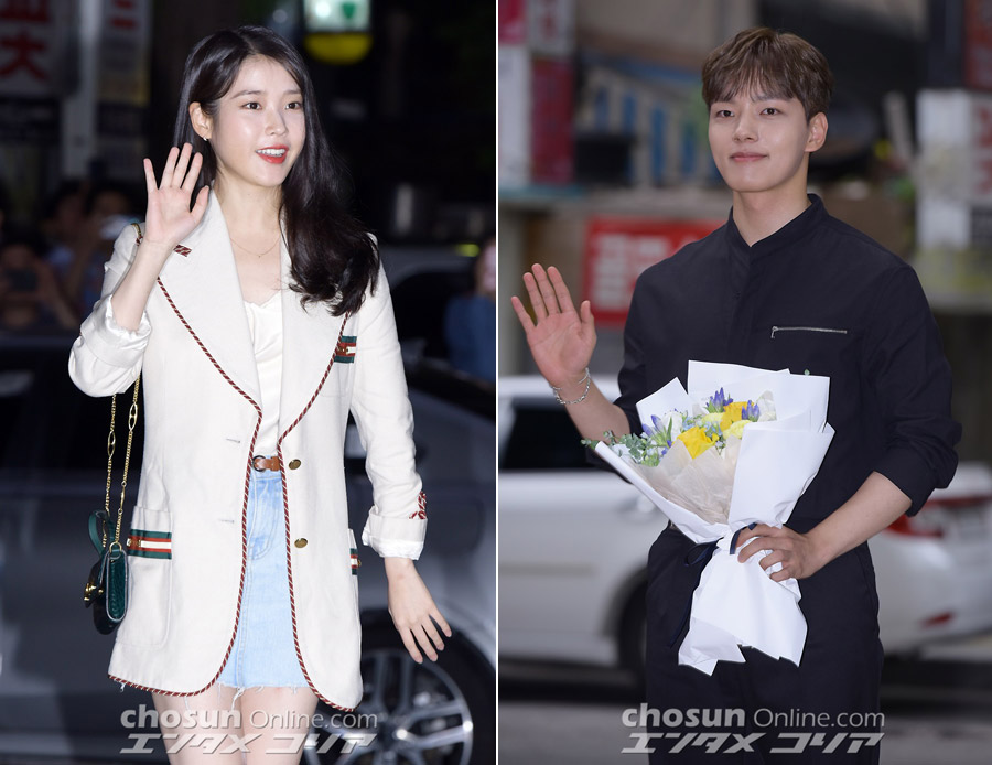 IU, Yeo Jin-gu Gather to Celebrate the Finale of Their Hit TV Series
