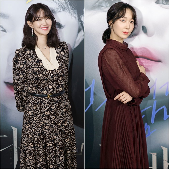 Actresses Shin Min-a, Lee You-young Show off Diverse Charms