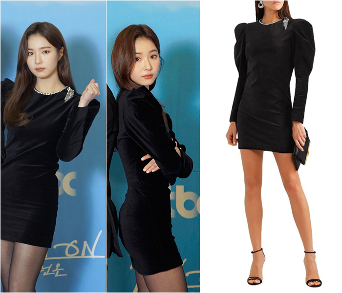 Shin Se-kyung, Soo-young Accentuate Slimness in Black Outfits