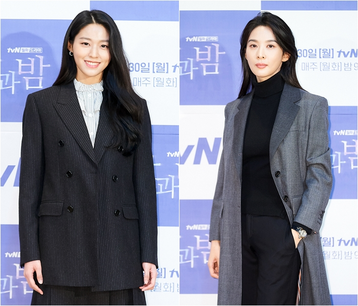Actresses Seol-hyun, Lee Chung-ah Achieve Similar Classic Look in Their Own Ways