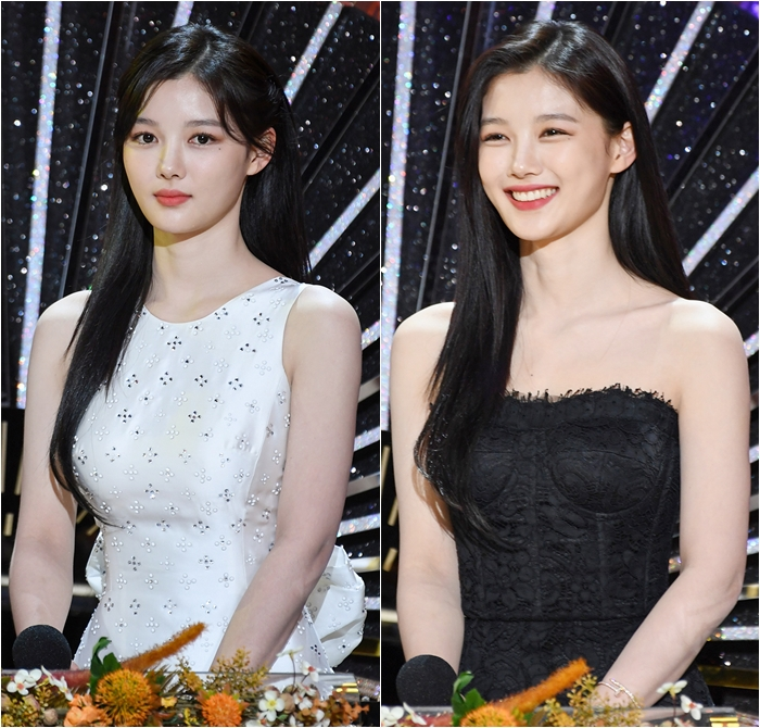 Change of Outfits Reveals Different Sides of Kim You-jung at Awards Show
