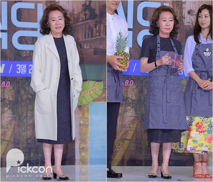 Actress Youn Yuh-jung Defies Her Age with Elegant Fashion Choices